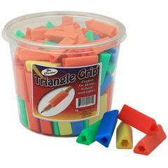 TRIANGLE PENCIL GRIPS 200PK