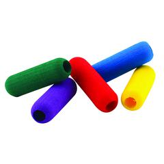 FOAM PENCIL GRIPS 36PK ASSORTED COLORS