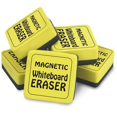 THE PENCIL GRIP MAGNETIC WHITEBOARD ERASERS 12PK 2IN X 2IN