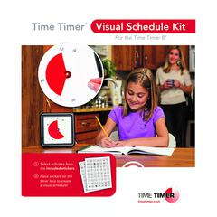 TIME TIMER VISUAL SCHEDULE KIT