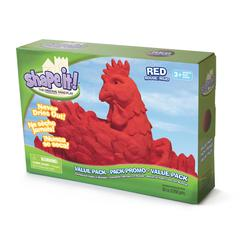 WABA FUN MOON SAND ROCKET RED 5 LB BOX