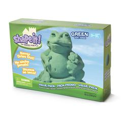WABA FUN SHAPE IT GALAXY GREEN 5 LB BOX