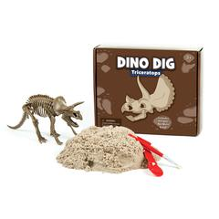 KINETIC SAND DINO DIG TRICERATOPS