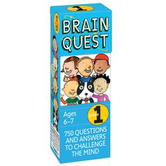WORKMAN PUBLISHING BRAIN QUEST GR 1