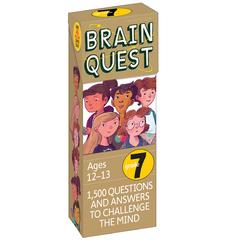 WORKMAN PUBLISHING BRAIN QUEST GR 7