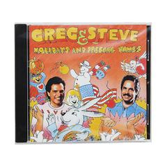GREG & STEVE PRODUCTIONS HOLIDAYS & SPECIAL TIMES CD GREG & STEVE
