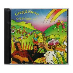 GREG & STEVE PRODUCTIONS WE ALL LIVE TOGETHER VOLUME 5 CD GREG & STEVE