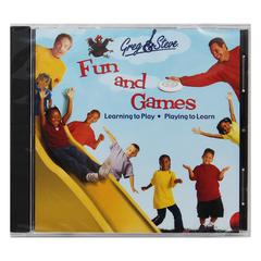 GREG & STEVE PRODUCTIONS GREG & STEVE FUN AND GAMES CD