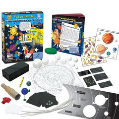 THE YOUNG SCIENTIST CLUB THE MAGIC SCHOOL BUS THE SECRETS OF SPACE KIT