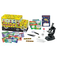 THE YOUNG SCIENTIST CLUB THE MAGIC SCHOOL BUS MICROSCOPE LAB