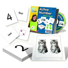 YELLOW DOOR US ACTIVE NUMBER CARDS