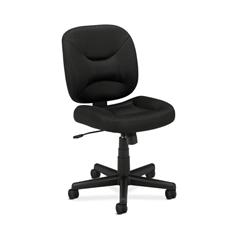 HVL210 Low-Back Task Chair | Center-Tilt | Black Sandwich Mesh