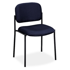 HVL606 Stacking Guest Chair | Navy Fabric