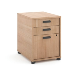 "basyx by HON Manage Pedestal File | 3 Drawers | 22""D 
