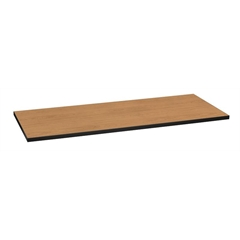 "Huddle Table Top | Rectangle | Flat Edge | 60""W x 24""D 