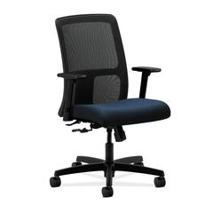 HON Ignition Low-Back Mesh Task Chair | Center-Tilt | Adjustable Arms | Mariner Fabric
