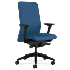 HON Nucleus Task Chair | Upholstered Back | Synchro-Tilt, Seat Glide | Adjustable Arms | Regatta Fabric
