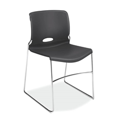 HON Olson High-Density Stacking Chair | Lava Shell