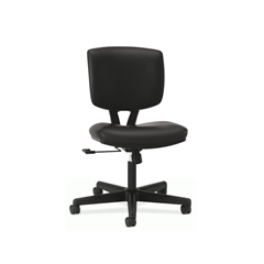 HON Volt Task Chair | Center-Tilt | Black SofThread Leather
