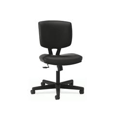 HON Volt Task Chair | Synchro-Tilt | Black SofThread Leather