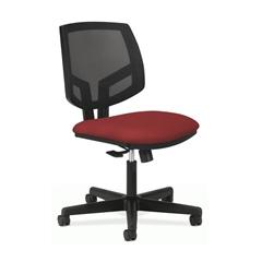 HON Volt Mesh Back Task Chair | Center-Tilt | Crimson Fabric
