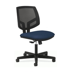 Volt Mesh Back Task Chair | Center-Tilt | Navy Fabric