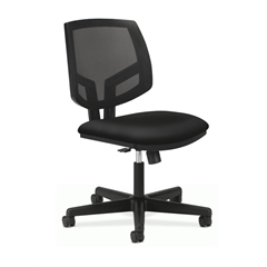 Volt Mesh Back Task Chair | Synchro-Tilt | Black Fabric