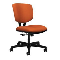 HON Volt Task Chair   Center-Tilt   Tangerine Fabric