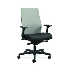 Ignition Mid-Back Task Chair | Ilira Back | Black Fabric