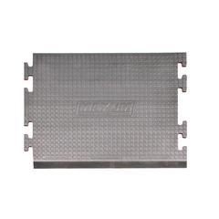 Anti-fatigue Mat Center Puzzle Piece 3x2 Gray