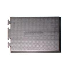 Anti-fatigue Mat Right Puzzle Piece 3x2 Gray