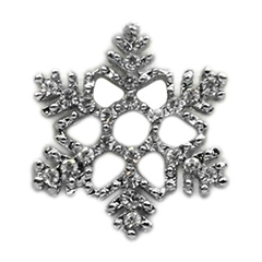 Mirage Pet Products Holiday 10mm Slider Charms Snowflake .