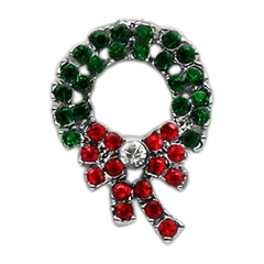 Mirage Pet Products Holiday 10mm Slider Charms Wreath .