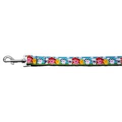 Mirage Pet Products Barnyard Buddies Nylon Ribbon Collars 1 wide 4ft Leash