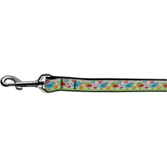 Mirage Pet Products Chirpy Chicks Nylon Ribbon Collars 1 wide 4ft Leash