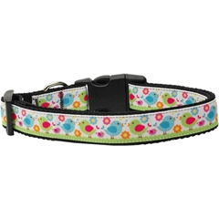Mirage Pet Products Chirpy Chicks Nylon Ribbon Collars Medium