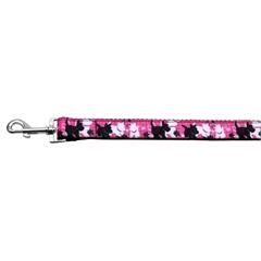 Mirage Pet Products Plaid Pups Nylon Ribbon Collars 1 wide 4ft Leash