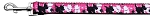 Mirage Pet Products Plaid Pups Nylon Ribbon Collars 1 wide 6ft Leash