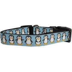 Mirage Pet Products Penguins Nylon Ribbon Collars Medium