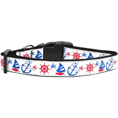 Mirage Pet Products Anchors Away Dog Collar Large