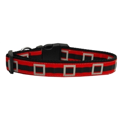 Mirage Pet Products Santa's Belt Dog Collar Medium