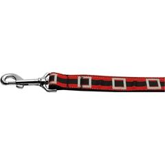 Mirage Pet Products Santa's Belt 1 inch wide 4ft long Leash