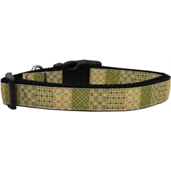 Mirage Pet Products Beige Chaos Dog Collar Large