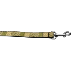 Mirage Pet Products Beige Chaos 1 inch wide 4ft long Leash