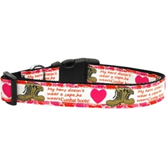 Mirage Pet Products Combat Boots Dog Collar Large