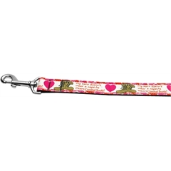 Mirage Pet Products Combat Boots 1 inch wide 6ft long Leash