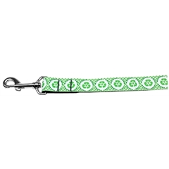 Mirage Pet Products Reduce Paw Print Nylon Dog Leash 6 Foot