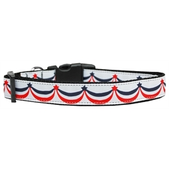 Mirage Pet Products American Swag Nylon Dog Collar Large