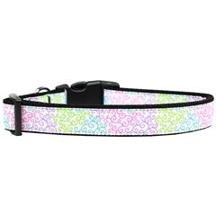 Mirage Pet Products Summer Swirls Nylon Dog Collar Medium