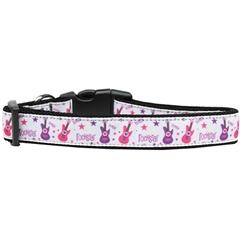 Mirage Pet Products RockStar Nylon Dog Collar Medium